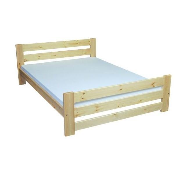 748222458d78 Masivní dřevěná postel JAREK 90-180x200 cm